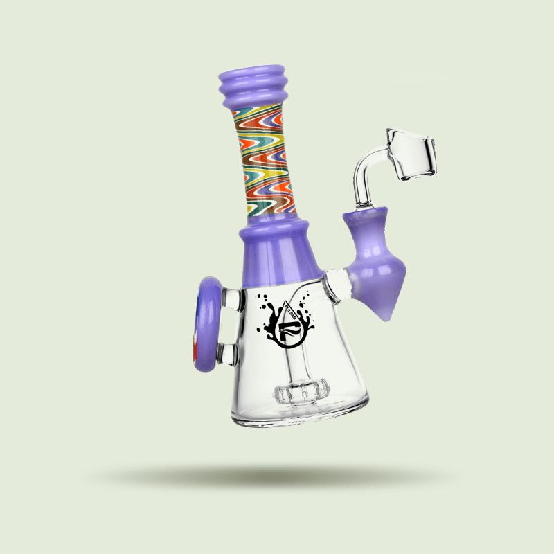 A purple bong