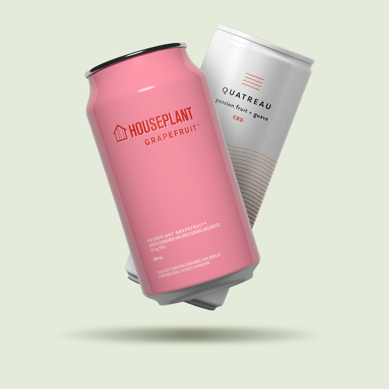 Cannabis Drinks in a Can